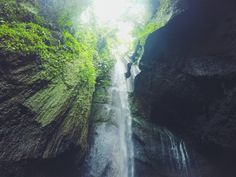 Waterfall ubud, bali  #travel