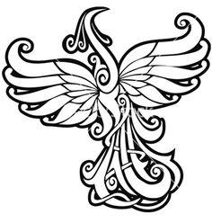 firebird line art