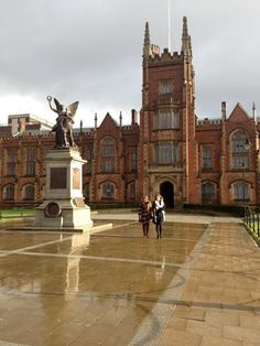 Queen's University Belfast.. The amazing main building of Queens is just 2 minutes from our doors.