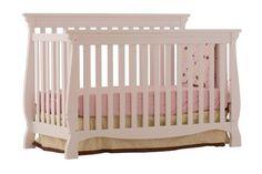 Stork Craft Venetian 4-in-1 Fixed Side Convertible Crib, White by Stork Craft, http://www.amazon.com/dp/B0051SDWP6/ref=cm_sw_r_pi_dp_cfxrqb08CSQGD