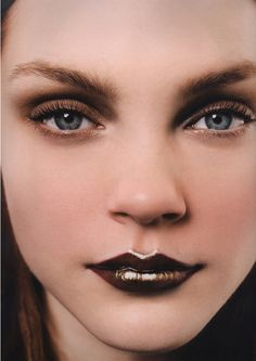 Vampy fall lips inspiration