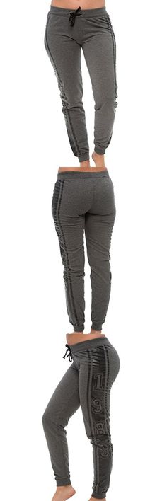 efd5e2e72ad2c Coco-Limon Plus Size Joggers - Long Fleece Love Prin