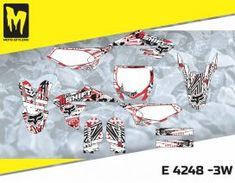E 4248 - Yamaha YZ 65 2018 - Moto-StyleMX - Premium manufacturer of quality decals for motocross, enduro, supermoto dirt bikes Motocross, Yamaha, Custom Design, Decals, Bike, Graphics, Bespoke Design, Bicycle Kick, Tags