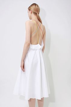 What To Wear When It's Too Hot To Wear Anything #refinery29  http://www.refinery29.com/hot-weather-summer-clothing#slide-8  The Loose, Open-Back DressLet that back breathe in a dress that won't cling to the rest of your body, either. Loéil Verona Dress, $62, available at Loéil. ...