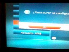 Restituir la señal Cantv Tv Satelital y Valores de Fabrica Decodificador...