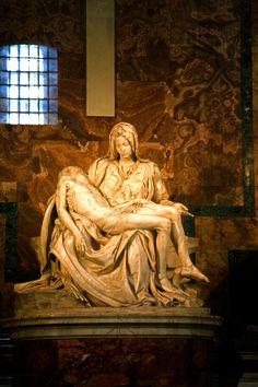 La Piedad de Miguel Ángel en Roma