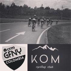 Feliz día inicia el fin de semana hoy: Rodada #granfondo #KOM @gfnycol Milan-San Remo y en el trofeo Alfredo #Binda @carbike. También seguimos pendientes de @genio205 @golong4all hasta el último reporte seguía liderando. Con toda! by k.o.m.cyclingclub
