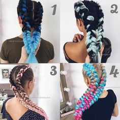 """63.9k Likes, 3,346 Comments - DAILY DOSE OF INSPIRATION 🦋 (@fashions.tv) on Instagram: """"Whats your fav ? 😍❤️❤️ . Follow us 👉🏻 @fashions.tv 🦋 .  By @hair_by_pustovalova"""""""