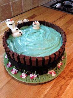 Mini Cakes, Cupcake Cakes, Olaf Birthday Cake, Birthday Cake For Kids, Birthday Ideas, Birthday Parties, Turtle Birthday, Turtle Party, 4th Birthday