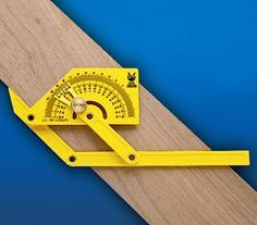Angle Setter / Protractor, 6 Inch Blade $4.75. Useful for fitting dollhouse siding to roof lines