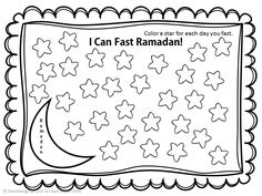 fasting Chart for kids :) [if they want to start fasting