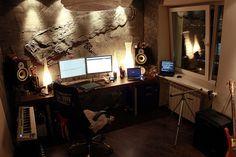 CLEAN AF Music Studio #cleanaf #thatscleanaf #passion #dream #music #studio #homestudio #classic #vintage #modern  http://clean.af