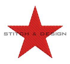 Machine Embroidery Star - Star Fill Design - Star Machine Embroidery Design - Embroidery Downloads