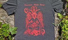 BATHomet Shirt Baphomet TShirt  Unisex by NouveauRicheSoap on Etsy, $20.00