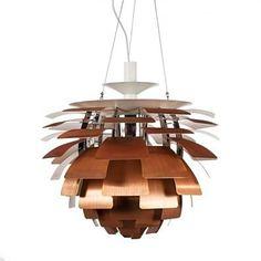 The PH Artichoke Pendant Lamp in Brushed Copper | Dot & Bo