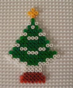 Christmas Tree Hama perler beads