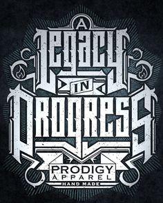 Shirt/Poster Design for Prodigy Apparel