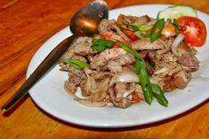 Insarabasab or Sarabasab - Filipino food  ~My Dad can cook a mean serving of this!