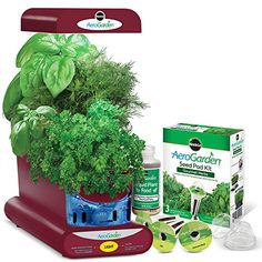 Miracle-Gro AeroGarden Sprout with Gourmet Herb Seed Pod ... https://www.amazon.ca/dp/B01EHSMSXW/ref=cm_sw_r_pi_dp_U_x_sqwnBb9AQWTTH