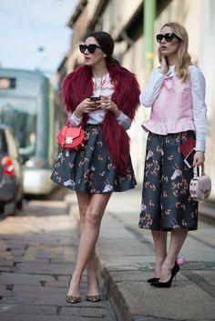 fabulous muses_milan fashion week_street style_diana enciu_alina tanasa