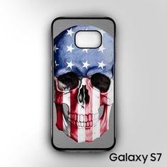 Skull americana for Samsung Galaxy S7 phonecases