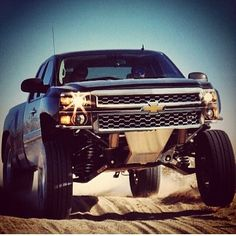 Long travel suspension Chevy