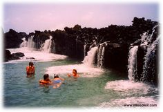 Family fun at Annaly Bay Tidepools, St. Croix, US Virgin Islands. 2 mile path walk from our St. Croix hotel.