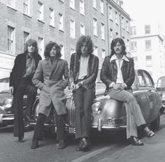 Go behind the scenes of Led Zeppelin's first tour.