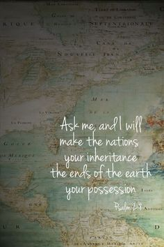 """MISSIONS is about GOING, SENDING, or SUPPORTING: """"People... ask why in the world we waste our lives as missionaries. They forget that they too are expending their lives... and... will have NOTHING of ETERNAL SIGNIFICANCE to SHOW for the years they have wasted."""" ~ Nate Saint"""