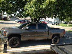 2014 Chevy Silverado  20% Front Doors  50% Windshield  www.GetTintNow.com  Tint Masters Window Tinting LLC  Beavercreek Oh 45432  CALL 937-471-TINT