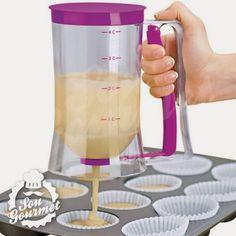 Baking Dispenser - O dispensador de massa que facilita a vida na cozinha! | Sou Gourmet