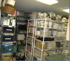 This is only a small portion of this woman's dish collection. I drool!