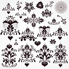 classic-lace-pattern----vector-material_34-56731.jpg 626×626 pixels