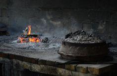 Peka (baking under the iron bell) #Croatia #Vis