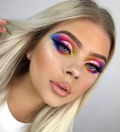 Full Makeup, Sexy Makeup, Hair Makeup, Makeup Tutorial For Beginners, Highlighter Makeup, Aesthetic Makeup, Makeup Goals, Makeup Videos, False Eyelashes