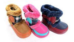正版韓國童鞋-兒童雪靴