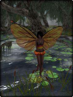Faeline Fairy Wings - Sayuri (flame)