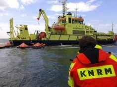 Grote reddingoefening voor kust van Hoek van Holland