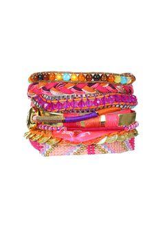 Bracelet Hippie Rose Hipanema sur MonShowroom.com