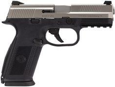 FN Herstal FNS9 Pistol 66753, 9mm, 3.8 in, Black Polymer Grip, Stainless Finish, 17 Rd