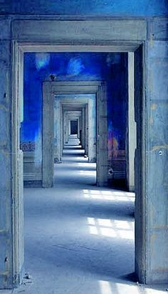 Blue Doorways.