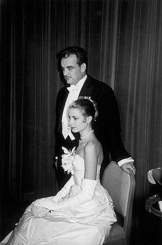 The engagement party of Grace Kelly and Prince Rainier of … | Flickr