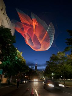 Janet Echelman, 1.26 Denver, Colorado, 2010