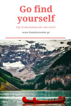 Go find yourself: Top 10 destinations for solo travel *Translation button at the top*