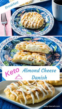 A perfect low carb Keto breakfast cheese danish! A perfect low carb Keto breakfast cheese danish! Low Carb Desserts, Low Carb Recipes, Diet Desserts, Healthy Recipes, Pain Keto, Diet Dinner Recipes, Keto Dinner, Diet Menu, Keto Diet Breakfast