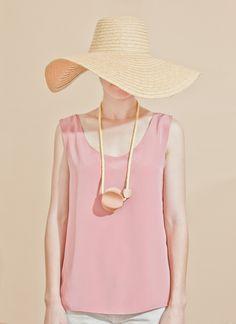 Pastel pink.