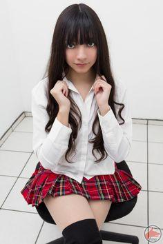 Schoolgirl - Portrait III by MaySakaali