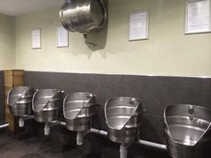 keg urinals