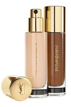 NEW YSL Le Teint Touche Éclat Foundation! Read more to find out about this NEW foundation out in June Yves Saint Laurent's Touche Éclat highlighter has been a beauty icon and most make-up. Ysl Foundation, Best Foundation For Dry Skin, Ysl Beauty, Beauty News, Yves Saint Laurent, Ysl Cosmetics, Dior, Beauty Junkie, Beauty