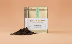 Six Depot Tea Packaging